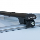IRON 3 BM07 FARAD LONG telescopic roof bars