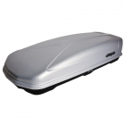 FARAD Roof Box KORAL 480L grey - FAST FIX