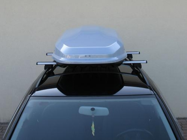 FARAD Roof Box F7 400L grey metallic